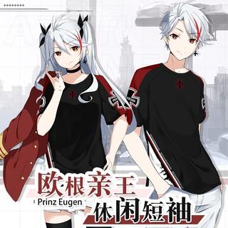 Áo Thun Ngắn Tay In Hình Anime Airline Độc Đáo