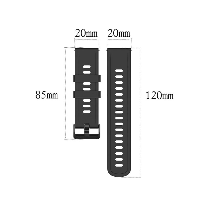 AMAZFIT Dây Đeo Silicon Cho Đồng Hồ Thông Minh 18mm