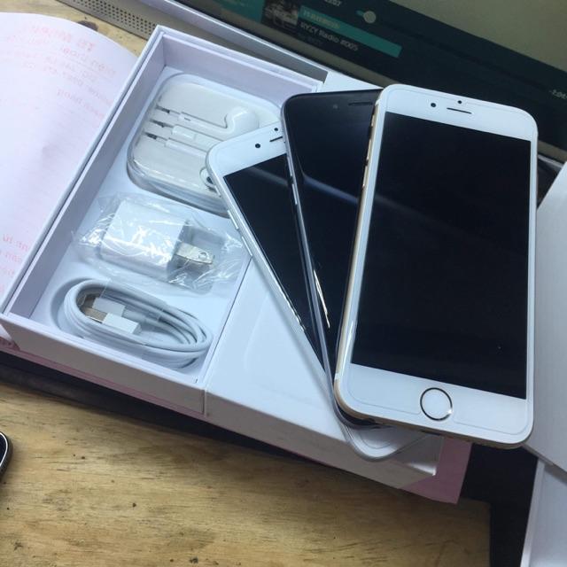 Điện thoại apple iphone 6 quốc tế 16g màu vàng chính hãng apple máy còn đẹp 999%