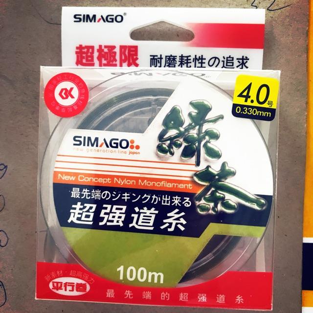 Cước xanh Simago cao cấp 100m