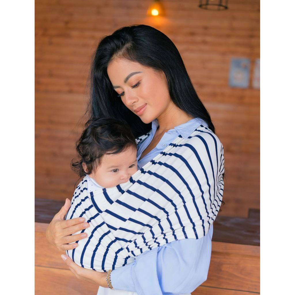 0-24 tháng Địu Em Bé mềm mại, thoáng khí, co giãn, trợ thủ cho đôi tay của mẹ, tiện dụng