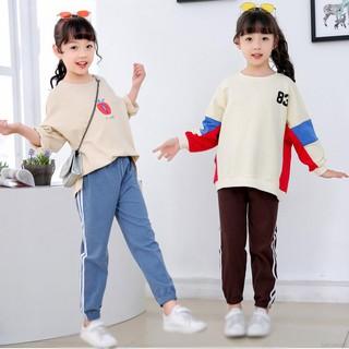 Quần Legging Cotton In Hình Sáng Tạo Cho Bé