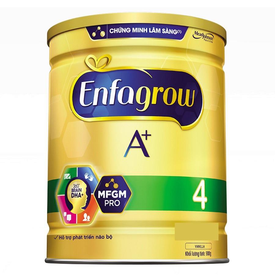 (Nhập ENFA70 giảm 70k đơn từ 700k) Sữa bột Enfagrow A + 4 900g