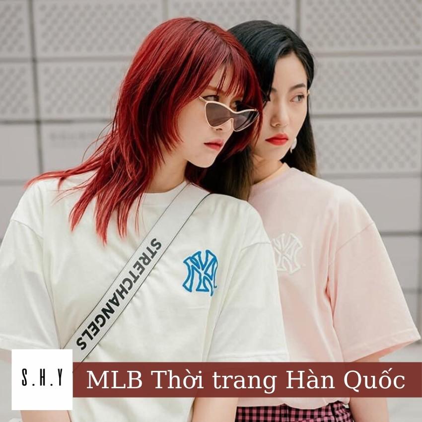 [SẢN PHẨM CHÍNH HÃNG] Áo Phông MLB 🇰🇷 Phong Cách Hàn Quốc Dư Xịn Full Tag Chuẩn Hãng