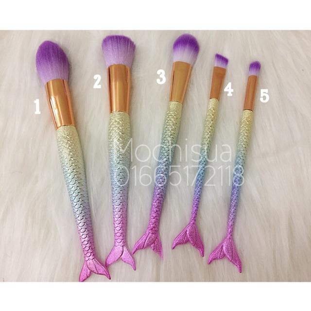 Cọ Makeup Trang Điểm Đuôi Cá Ombre (tách set)