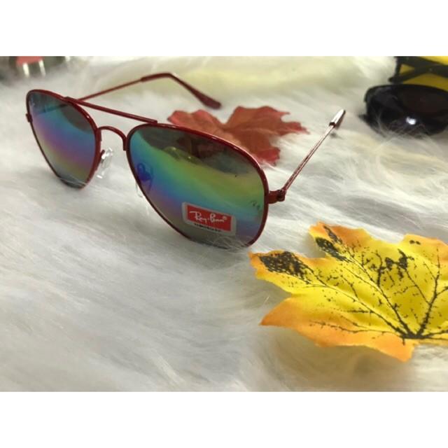 kính chống nắng gọng giọt lệ nhiều màu thời trang cho bé 1