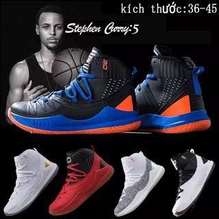 """𝐓Ế𝐓🌺 NEW CH Giày bóng rổ nam NBA Curry 5 chất lượng cao """" ˇ ' : : : ✔️"""