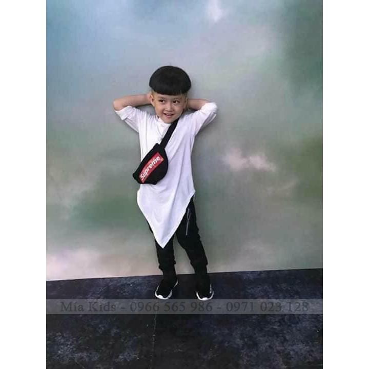 Túi superme cho bé trai-bé gái, Túi đeo chéo cho bé, Túi vải y hình