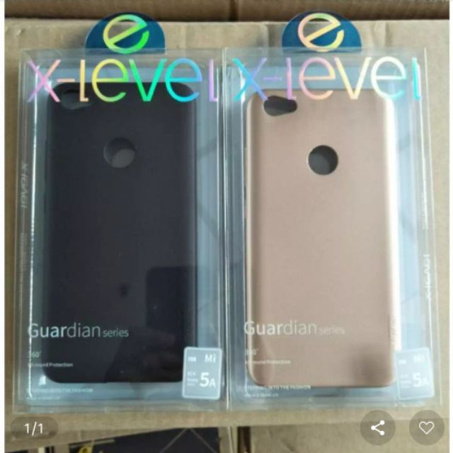 Ốp dẻo X-Level Xiaomi Redmi 5A lưng nhám chống vân tay