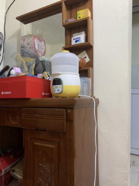 Đánh giá sản phẩm (FREESHIP-CÓ SẴN) Nồi nấu cháo ninh hầm cách thuỷ cho bé Bear 0,8l (có thể nấu và hấp cùng lúc) của hien444483