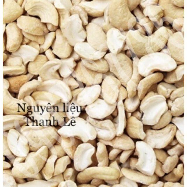 Hạt Điều Bẻ Đôi 500gram-Nguyên Liệu Làm Nhân Bánh Trung Thu