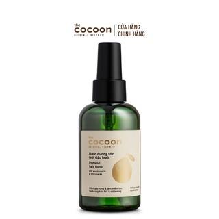Nước dưỡng tóc tinh dầu bưởi Cocoon giúp giảm gãy rụng & làm mềm tóc 140ml