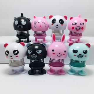 Combo 8 emoji thú nhún lò xo mèo thỏ gấu_tuandat