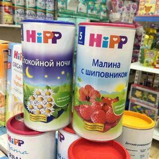 Trà Hoa quả Hipp nội địa Nga cho bé từ 4M 200g (date mới 2022)