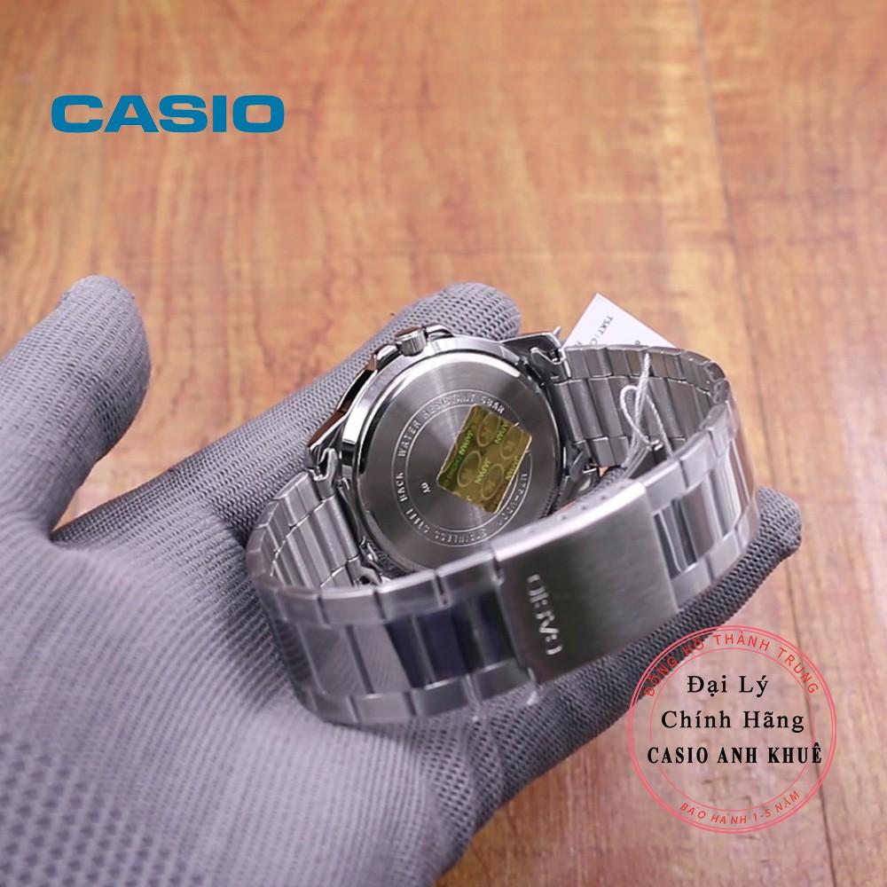 Đồng hồ Casio Nam MTP-VD01D-1E2VUDF cỡ mặt 45mm