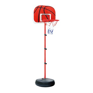 83-200CM Basketball Stands Height Kids Basketball Goal Hoop Toy Set-Black+Red