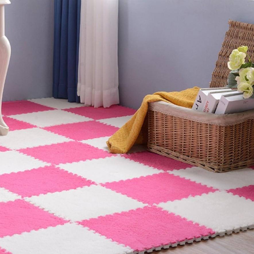 [Siêu Rẻ] Thảm lông xốp 30x30 Siêu Đẹp