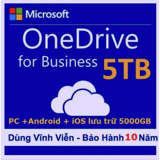 Bộ Onedrive 5TB dùng lưu trữ Online
