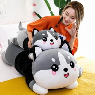 Gấu bông chó Husky má hồng áo nỉ I Love U gấu ôm có khóa sườn tách bông kích thước 80-100-120cm NEOCI