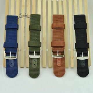 Dây đeo đồng hồ thay thế bằng vải 20mm 22mm 24mm
