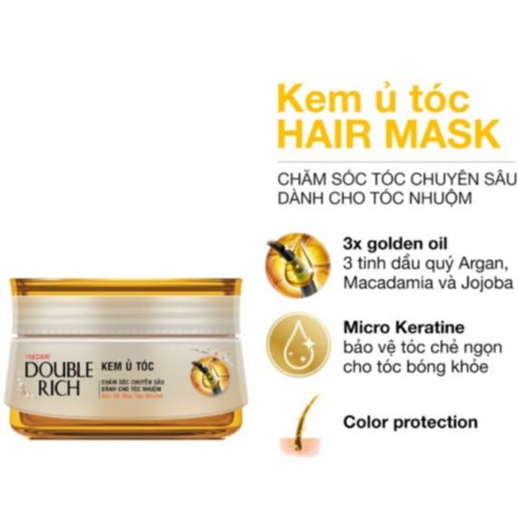 Kem ủ tóc Double Rich Hair Mask 150ml