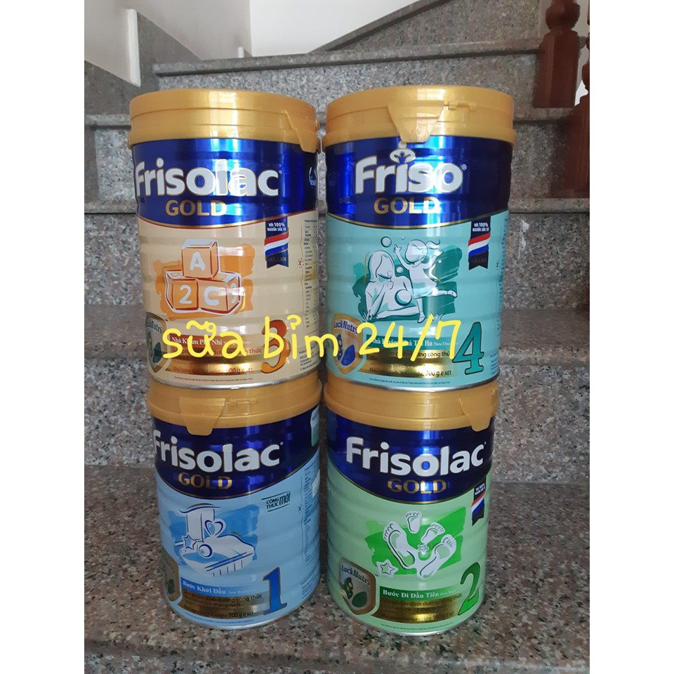 Sữa bột Frisolac gold 1 2 3, Friso gold 4