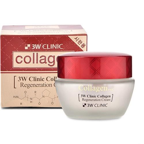 [Chính hãng] Kem dưỡng trắng da chống lão hóa 3W Clinic Collagen Regeneration Cream 60ml - 9926791 , 488058983 , 322_488058983 , 199000 , Chinh-hang-Kem-duong-trang-da-chong-lao-hoa-3W-Clinic-Collagen-Regeneration-Cream-60ml-322_488058983 , shopee.vn , [Chính hãng] Kem dưỡng trắng da chống lão hóa 3W Clinic Collagen Regeneration Cream 60ml