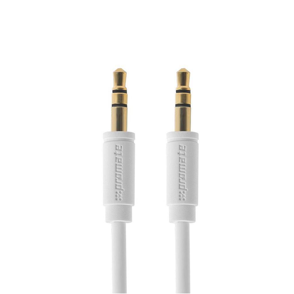 Cáp nối âm thanh Promate linkMate-A1L cổng 3.5mm 3m (Trắng)