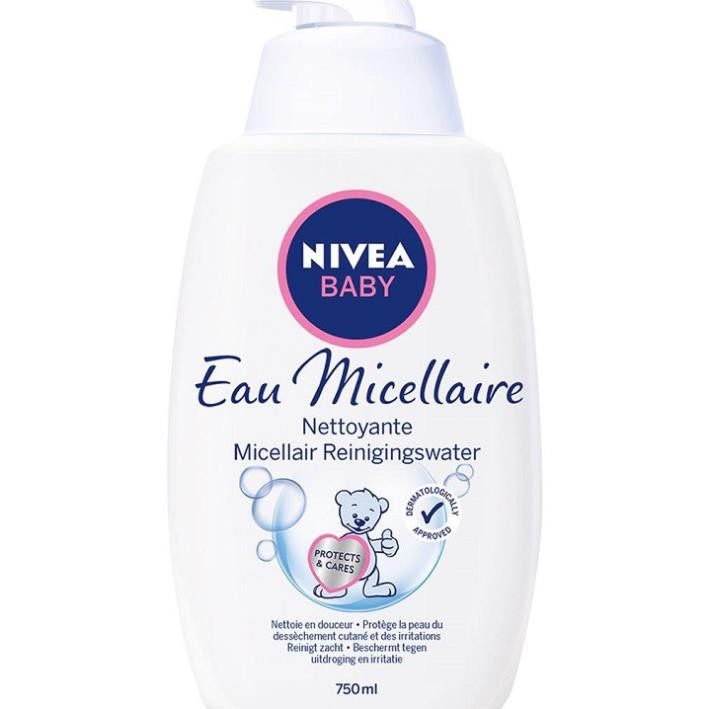 NIVEA BABY Cleansing Micellar Water 750 ml