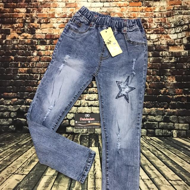 Quần jeans dài cho bé ( 23kg-29kg) (trai / gái) - 3384549 , 837781515 , 322_837781515 , 168000 , Quan-jeans-dai-cho-be-23kg-29kg-trai--gai-322_837781515 , shopee.vn , Quần jeans dài cho bé ( 23kg-29kg) (trai / gái)