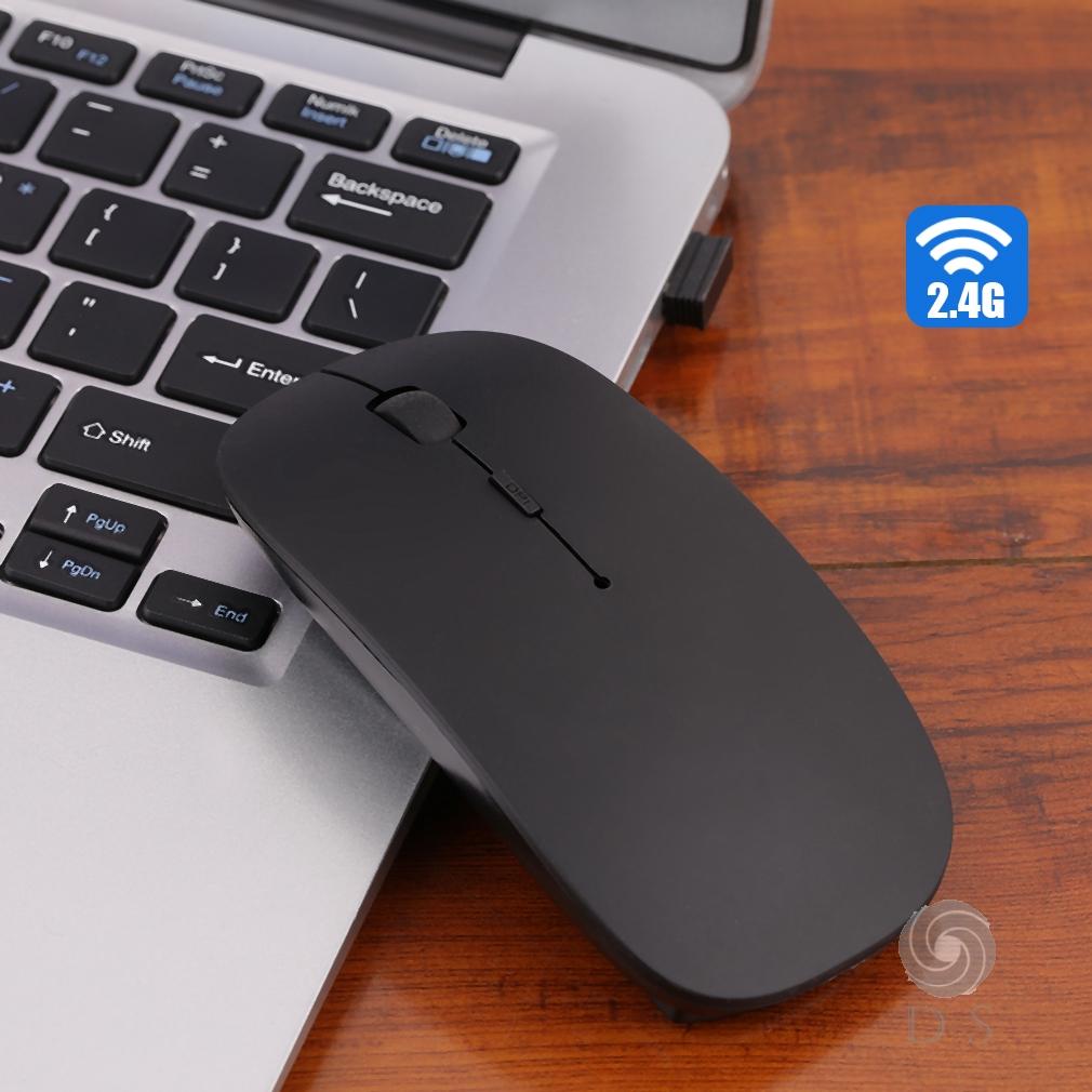 Chuột Quang Không Dây 2.4Ghz Usb Cho Apple Macbook Pro Air