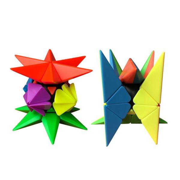 AD 3D Unique Discrete Type Pyramid / Pineapple Shape Magic Cube Children Puzzle