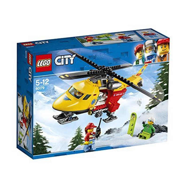 Lego City 60179_Trực Thăng Cứu Hộ(190 chi tiết)
