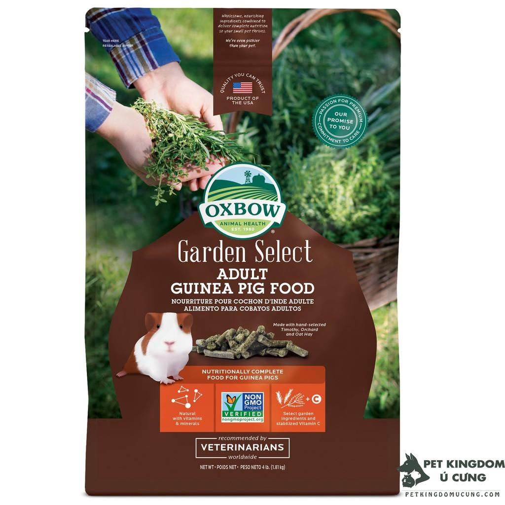 Thức ăn guinea pig oxbow garden select 4lb