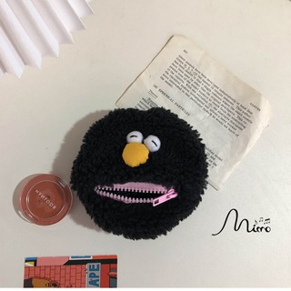 Ví đựng xu đeo cổ tay hình cookie monster đáng yêu tiện lợi thumbnail