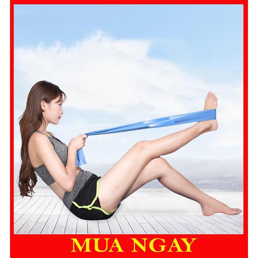 Dây Cao Su Đàn Hồi Kháng Lực Tập Thể Dục Yoga 1,5 Mét AK28
