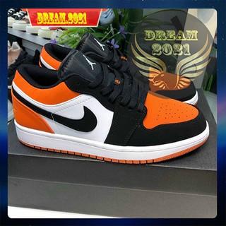 giày jordan cam đen cổ thấp thumbnail