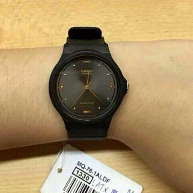 Đồng hồ nam dây nhựa Casio chính hãng Anh Khuê MQ-76-1ALDF