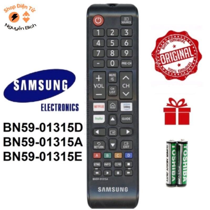 Bảng giá Điều khiển tivi Samsung smart dùng cho Tất cả tivi SAMSUNG - Màu đen [ KM Pin ]