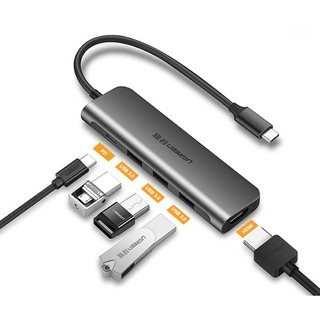 [Mã ELMSBC giảm 8% đơn 300K] Cáp USB Type C to HDMI, USB 3.0 cao cấp Ugreen 50209