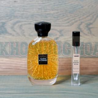 Nước hoa dùng thử Atelier Des Ors Larmes Du Desert