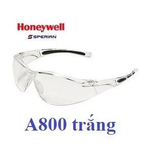 Kính chống bụi A800 trắng dòng HoneyWell, chính hãng Sperian