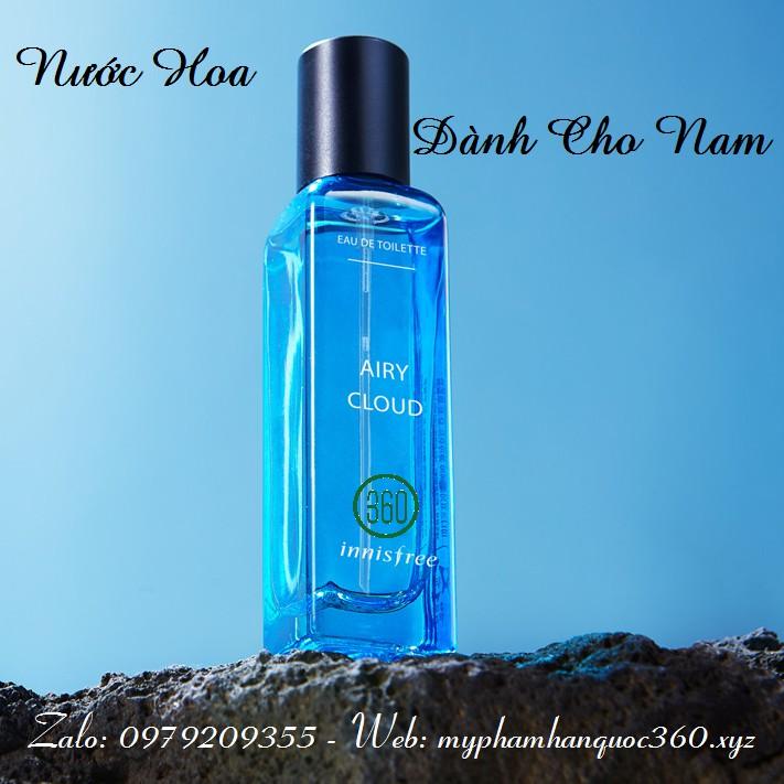 Nước hoa cho nam hương biển xanh - Innisfree Airy cloud eau de toilette