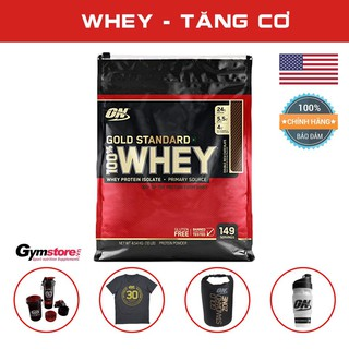 Sữa tăng cơ Whey Protein ON Gold Standard 100% Whey 10Lbs, (144 servings)