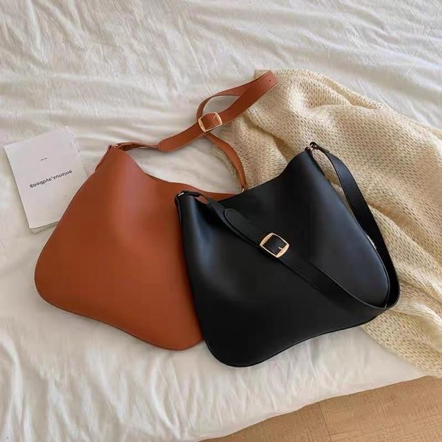 set túi tặng kèm ví vừa a4 đeo chéo túi da xinh công sở thời trang doraeshoppp
