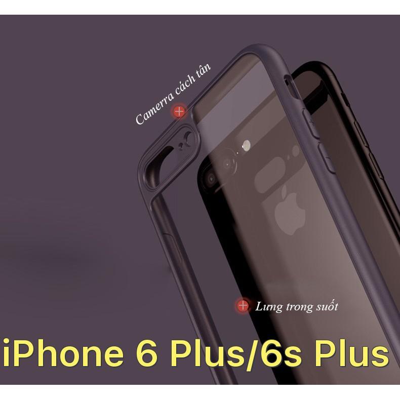 Ốp lưng dẻo trong suốt viền đen cách tân iPhone 6 Plus / iPhone 6s Plus - 2857336 , 834601158 , 322_834601158 , 41000 , Op-lung-deo-trong-suot-vien-den-cach-tan-iPhone-6-Plus--iPhone-6s-Plus-322_834601158 , shopee.vn , Ốp lưng dẻo trong suốt viền đen cách tân iPhone 6 Plus / iPhone 6s Plus