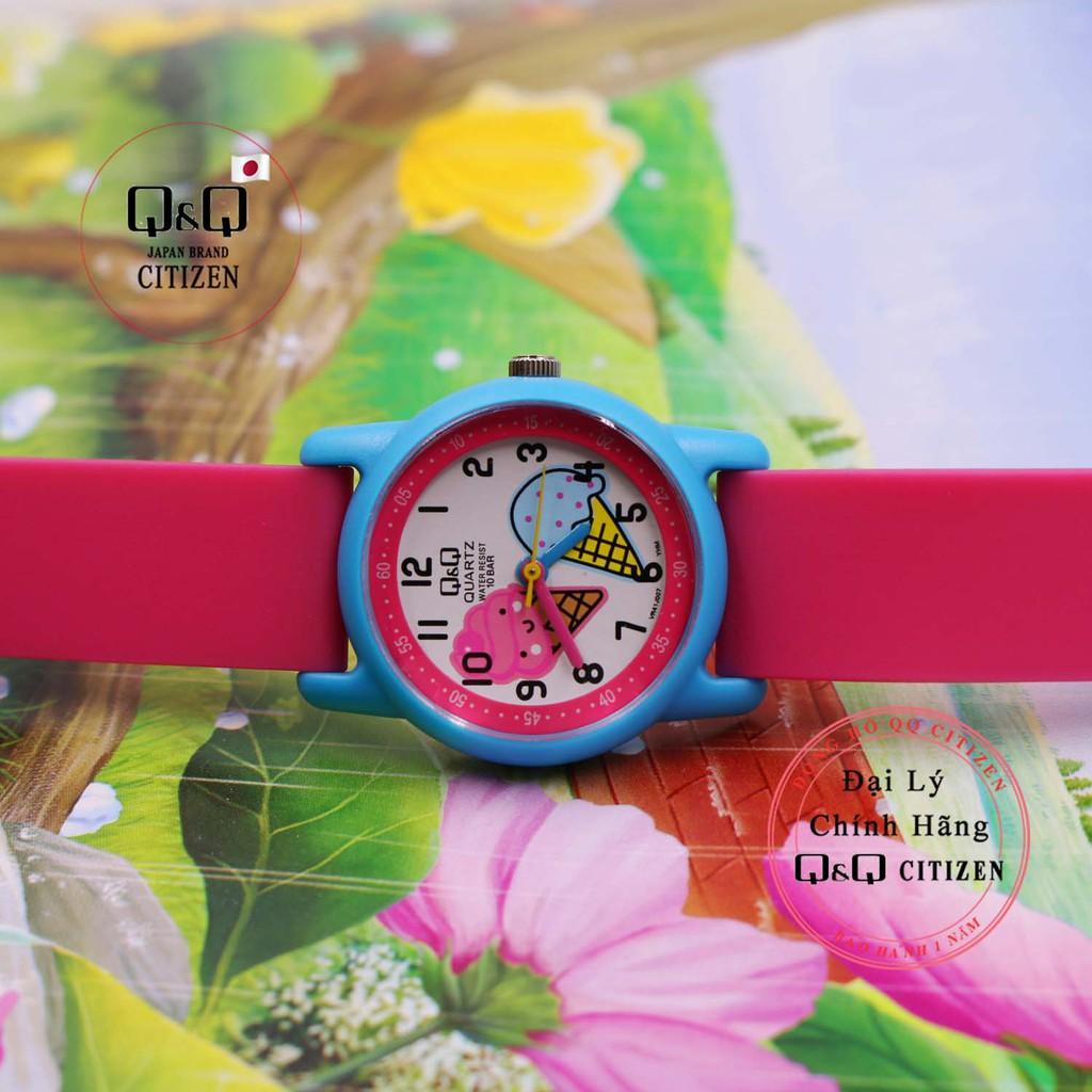 Đồng hồ trẻ em Q&Q Citizen VR41J007Y thương hiệu Nhật Bản
