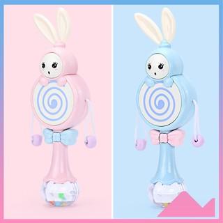 Đồ chơi cho bé, đồ chơi trẻ em thỏ phát nhạc DC03 ngộ nghĩnh đáng yêu phát huy tốt tính sáng tạo cho trẻ yêu