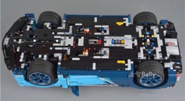 [ Hàng order 7-10 ngày ] Lepin technician - 20086 - Bugatti Chiron