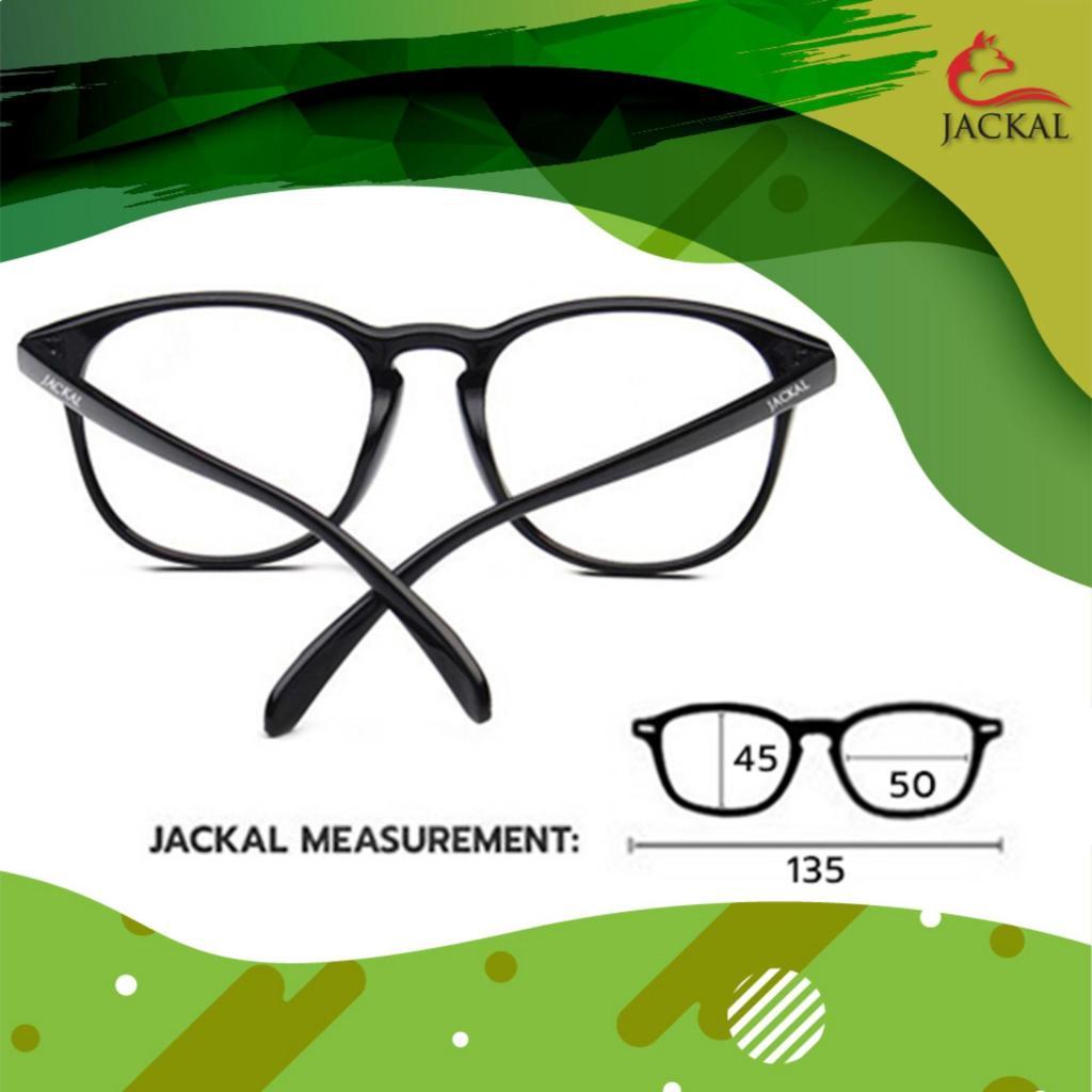 Travel Sunglasses JACKAL OP020(4in1) แว่นกรองแสงสีฟ้า เลนส์ออโต้ มัลติโค้ด สุดยอดเทคโนโลยีใหม่ PREMO Lens จากญี่ปุ่น วัส